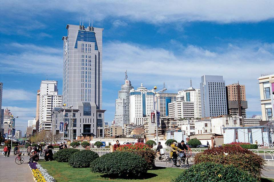 Kunming is the capital of the province of Yunnan, located in the south-east of China.