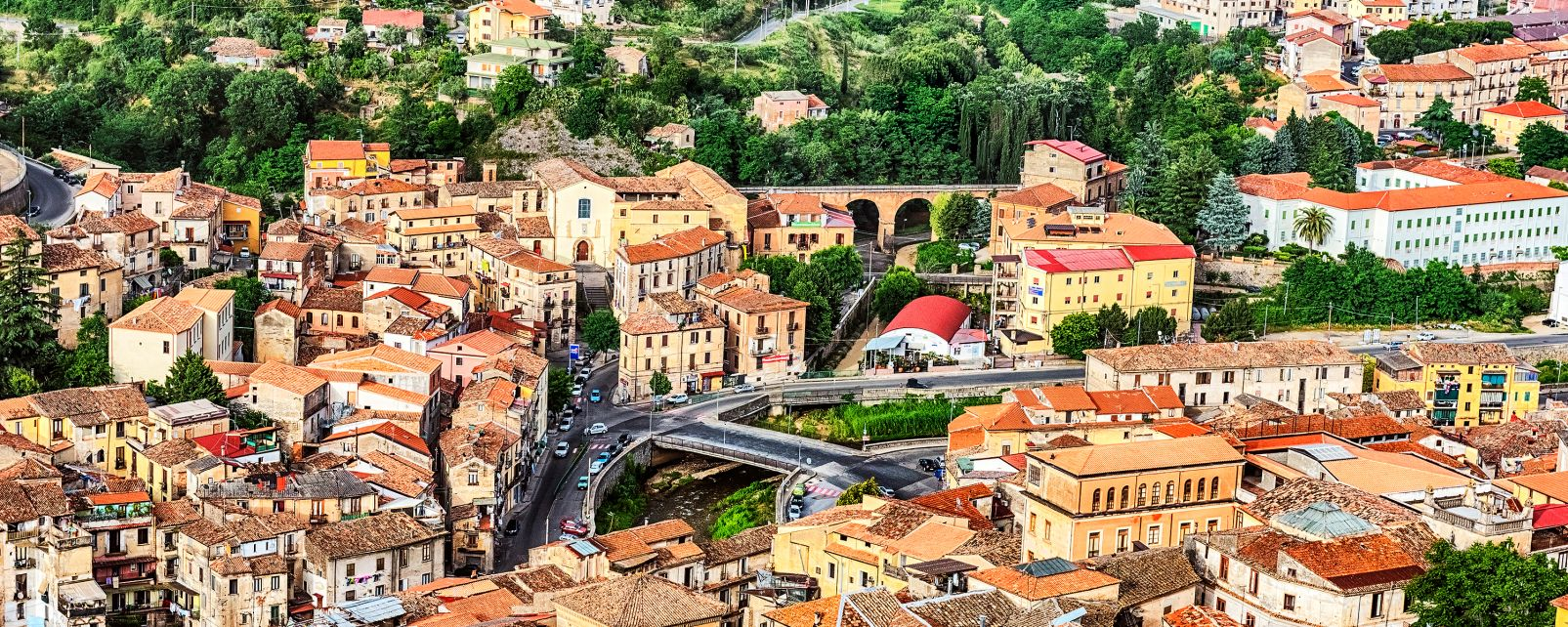 Cosenza, Kalabrien, Italien