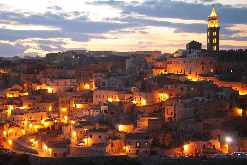 The Sassi de Matera are defined as a cultural landscape and are now listed as a Unesco World Heritage Site.
