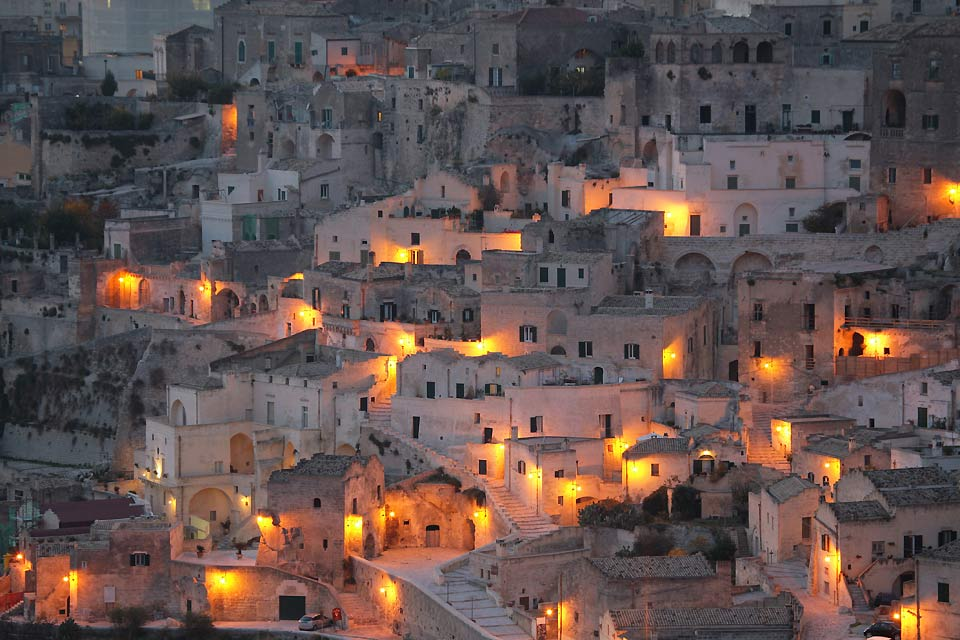 """Anyone who sees Matera cannot help but be awe-struck, so expressive and touching is its sorrowful beauty"", wrote Carlo Levi."