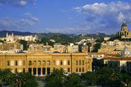 L'imposant Palais Zanca, siège de la mairie de Messine.