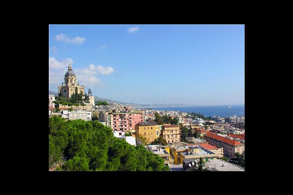A panoramic view of the city°; to the right you can make out the Christ the King church