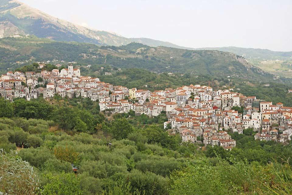 Potenza se encuentra ubicada junto a los Apeninos, al norte de los Dolomitas lucanos, en el alto valle del Basento. A 819 metros de altitud, es la capital regional situada a mayor altitud de toda Italia.