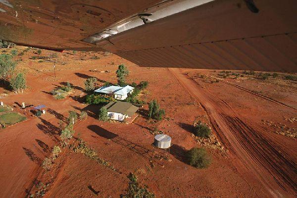 Alice Springs está situado en el norte de Australia.