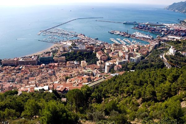 The territory of Salerno is very diverse, ranging from sea level to 953 meters in the Monte Stella.