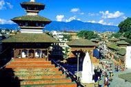 Katmandou est la capitale religieuse et politique du Népal.