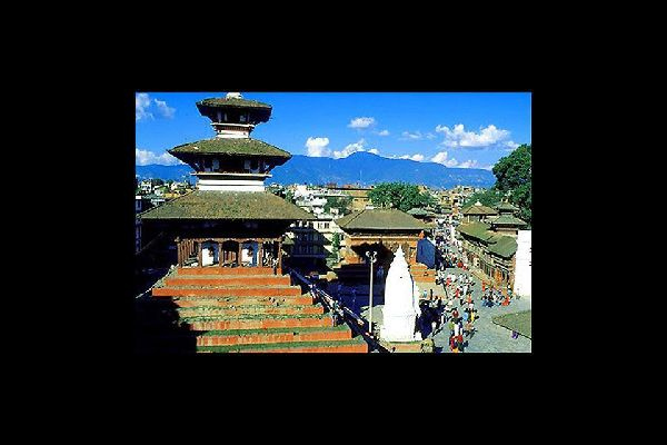 Kathmandu is the religious and political capital of Nepal.
