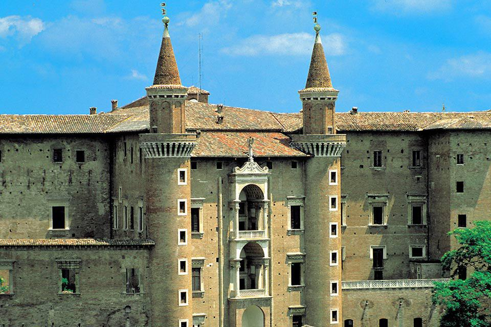 The Ducal Palace in Urbino is one of the most interesting examples of architecture and art of the entire Italian Renaissance.
