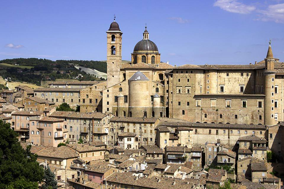 Urbino owes much of its marvellous art to the patronage of the House of Montefeltro, which had one of the most refined nobiliary courtyards in Italy during the Renaissance.