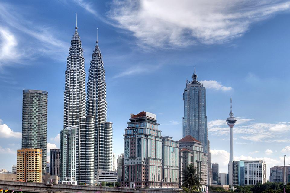 Built between 1993 and 1998, the Petronas Towers are now a symbol of the city.