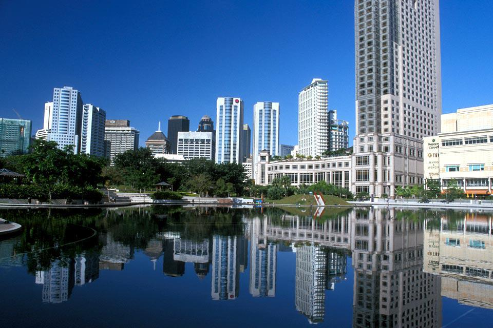 The capital is located at the confluence of two rivers: the Klang and the Gombak.
