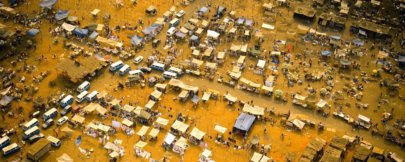 Afrique; Angola; Luanda; centre-ville; ville;