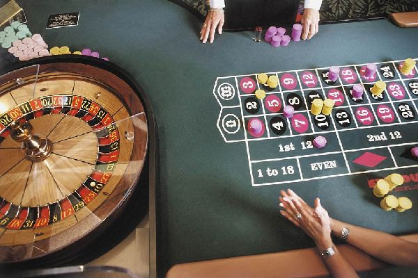 A game of roulette in one of Las Vegas' immense reputed casinos