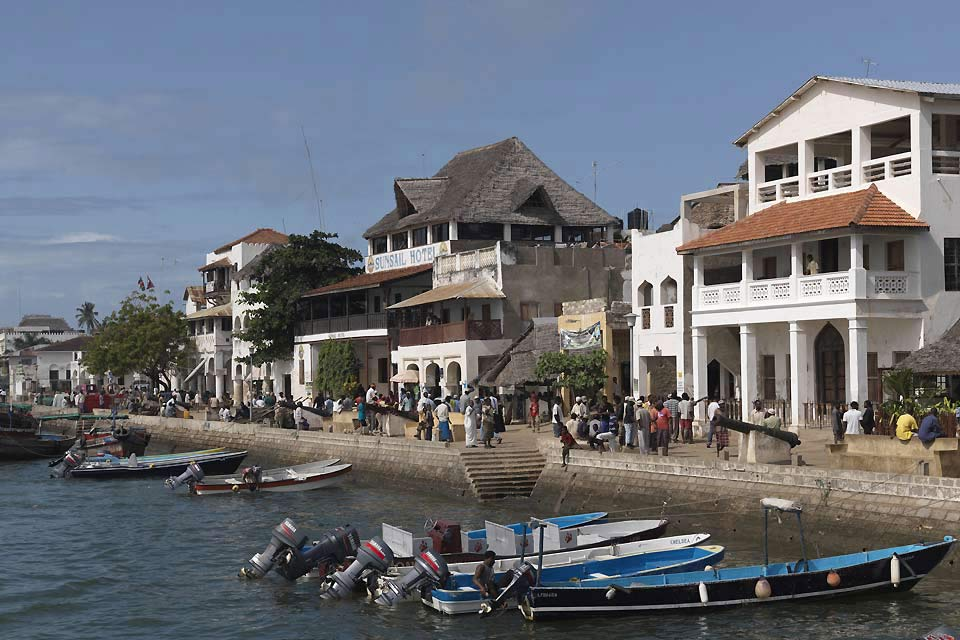 The port of Lamu is Kenya's second biggest after Mombasa.