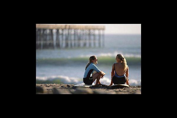 A pesar de sus dimensiones «urbanas», en Los Ángeles se han conservado las tradiciones asociadas al surf.