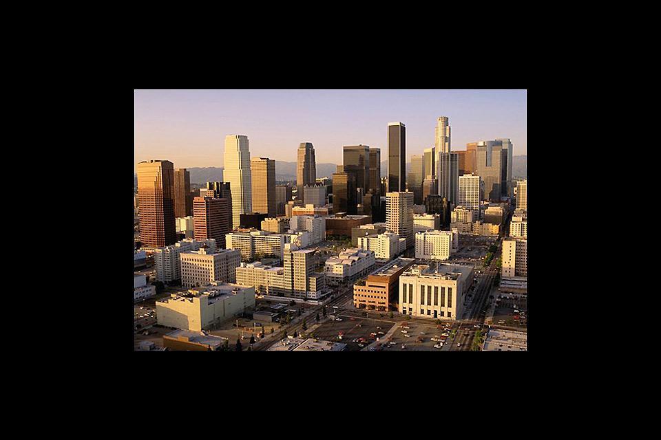 Ville gigantesque, L.A. peut être parcourue uniquement en voiture.