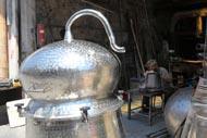 Les petites rues du quartier turc accueillent encore des échoppes d'artisans.