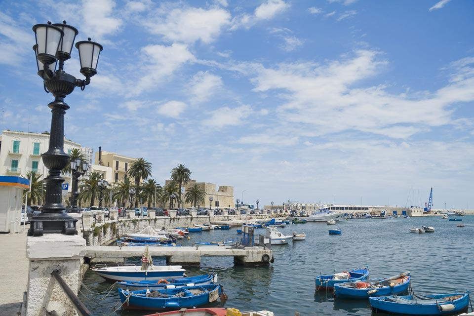 Life in Bari revolves around its port, which for centuries fostered the prosperity of the city.