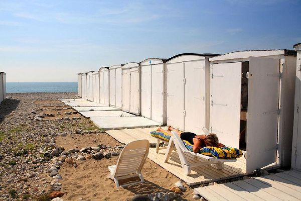 The beach cabanas of Le Havre have contributed to the city's reputation. Ever since they were created, they have inspired many painters.