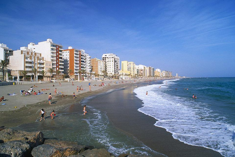 Almeria is known for its beaches of fine sand. It also has the largest naturist beach in Europe.