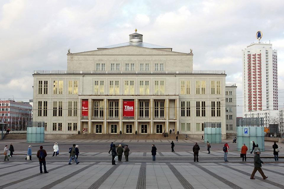 Die Oper in Leipzig hat eine lange Tradition.
