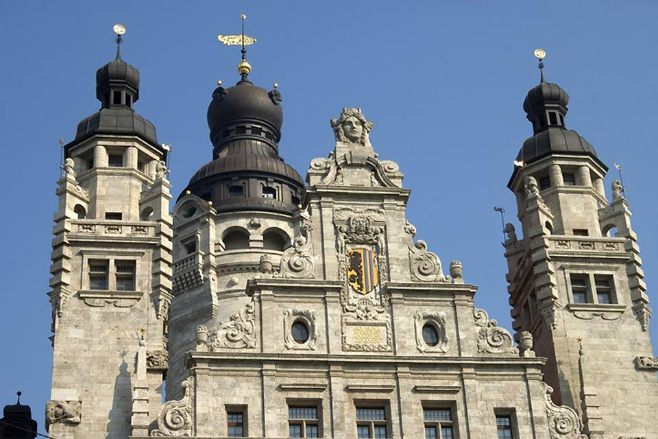 Leipzig's new city hall has been the home of the city's municipal council since 1905.