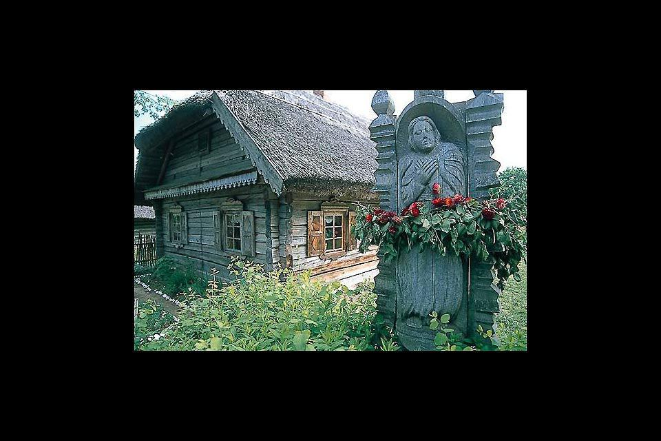 The open-air ethnographic museum in Rum?i?k?s, Lithuania