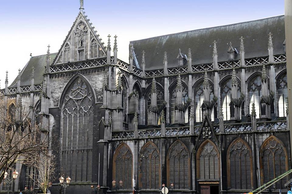 Der Bau dieser gotischen Kirche wurde 1538 vollendet.