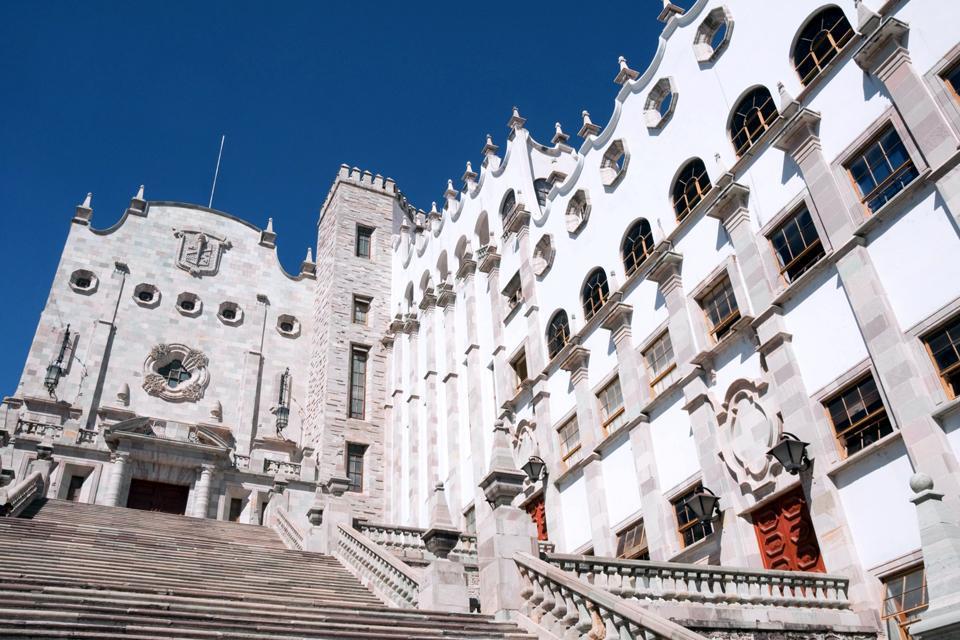 Le centre historique de Guanajuato a été déclaré au patrimoinde de l'Unesco.
