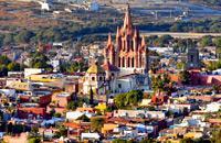 Ravissante bourgade baroque dominant la plaine fertile du Bajio, San Miguel a été colonisée par les artistes américains, les écoles d'art et de langues et les auberges de charme. Pourtant, ce bijou colonial demeure l'une des plus charmantes étapes d'un voyage au Mexique....