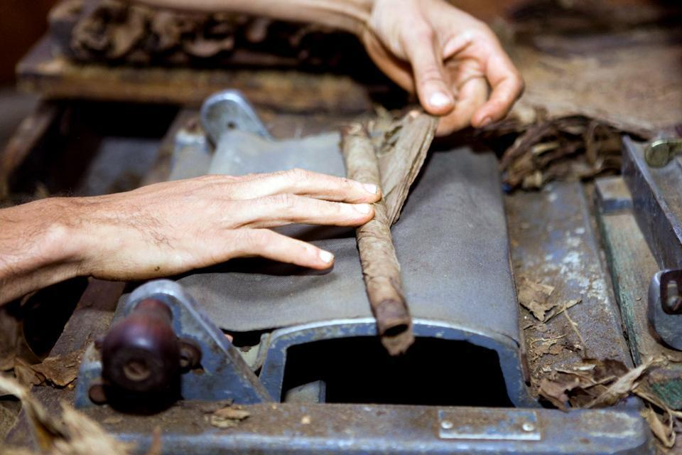 Cigars are handmade by torceros. You can buy them from the shopkeepers in the streets who roll them before your very eyes.