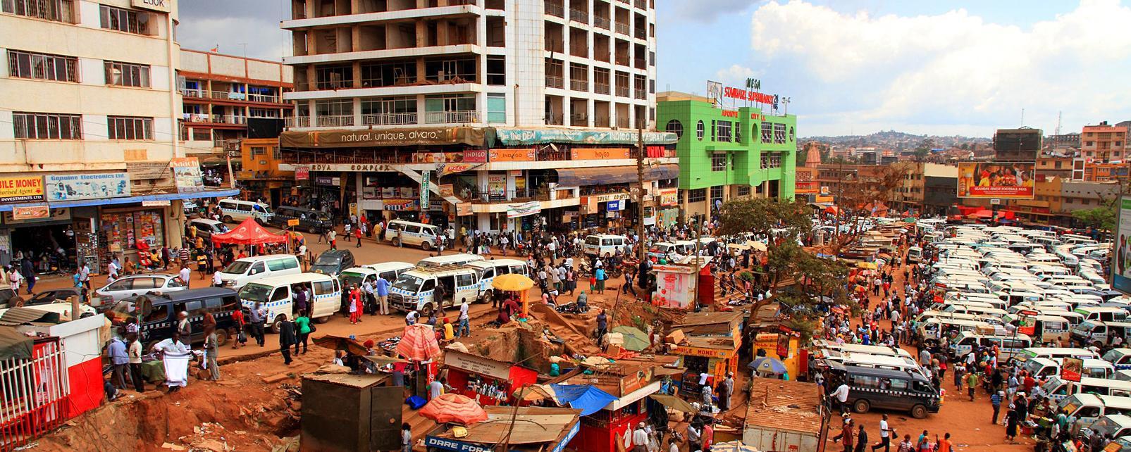 Centre Ville De Kampala