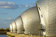The world's second largest movable flood barrier