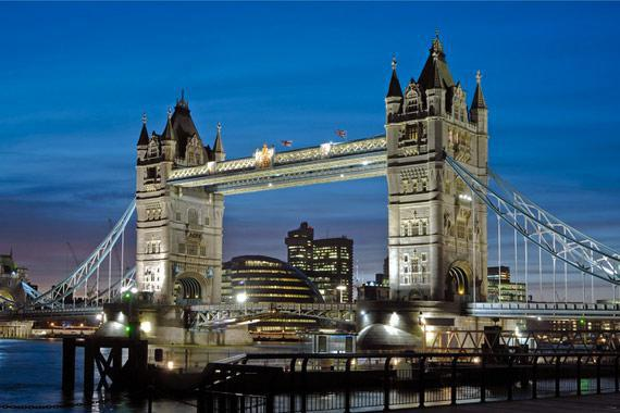 Londres (monuments et shopping) : Tower Bridge, Londres - Royaume-Uni