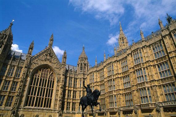 Londres (monuments et shopping) : Les Chambres du Parlement, Londres - Royaume-Uni