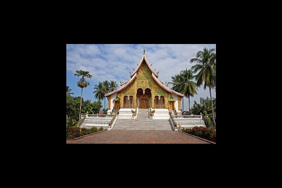 Le temple boudhiste de Wat Xieng Thong est probablement l'un des plus beaux monuments de Luang Prabang. La ville est d'ailleurs classée par l'UNESCO.