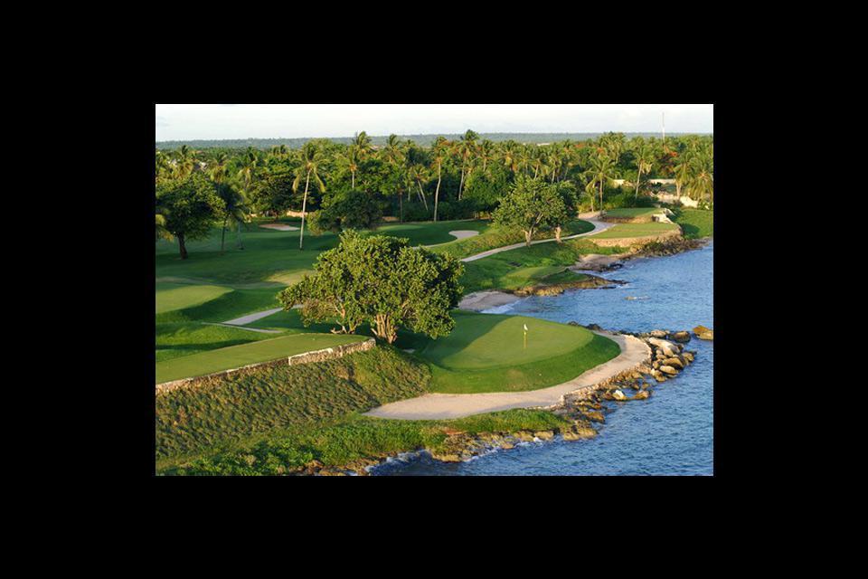Les trois golfs du complexe Casa de Campo à La Romana sont signés Pete Dye.