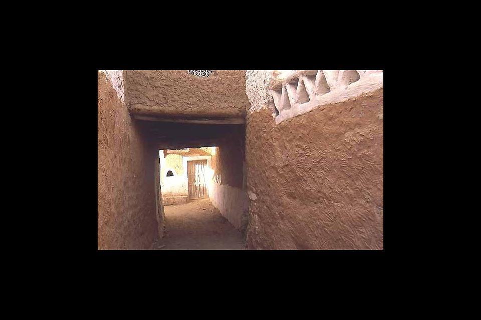 Der ummauerte Altstadtkern der Stadt Ghadames an der Grenze zu Tunesien ist Teil des UNESCO-Weltkulturerbes.