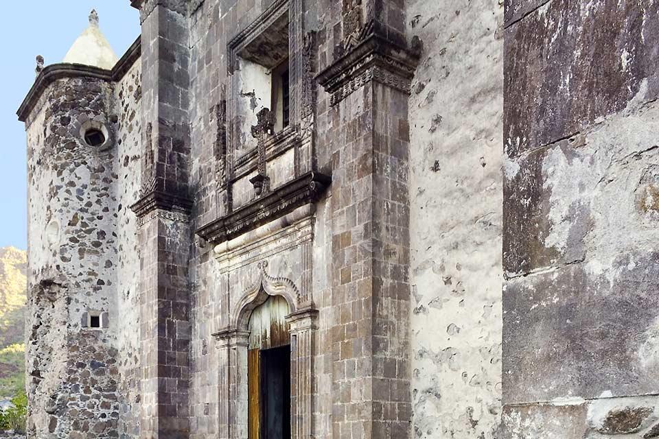 La chiesa ha ben conservato l'aspetto originale dato dai missionari gesuiti.