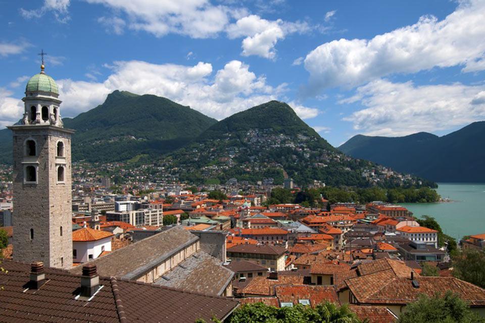 Die Stadt Lugano zählt mehr als 55.000 Einwohner.