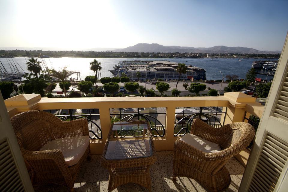 Louxor a été construite aux abords du Nil.
