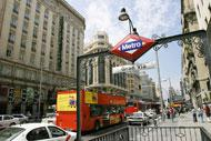 The Gran Via is the main avenue in Madrid. It is full of hotels, cinemas, banks and shopping centres.