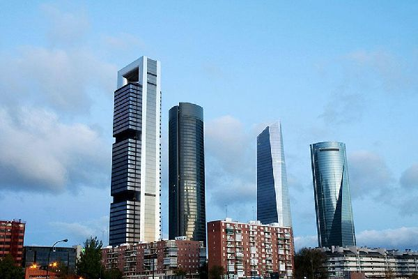 This is where you will find the Torre Caja, the highest Spanish tower, designed by Norman Foster.