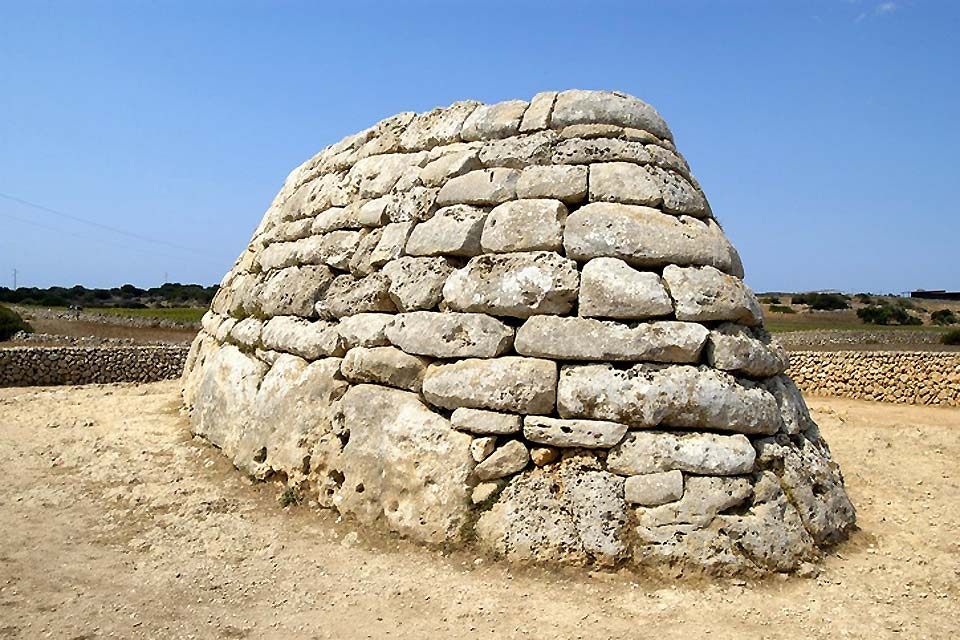 These stone constructions were built to serve as funeral monuments.