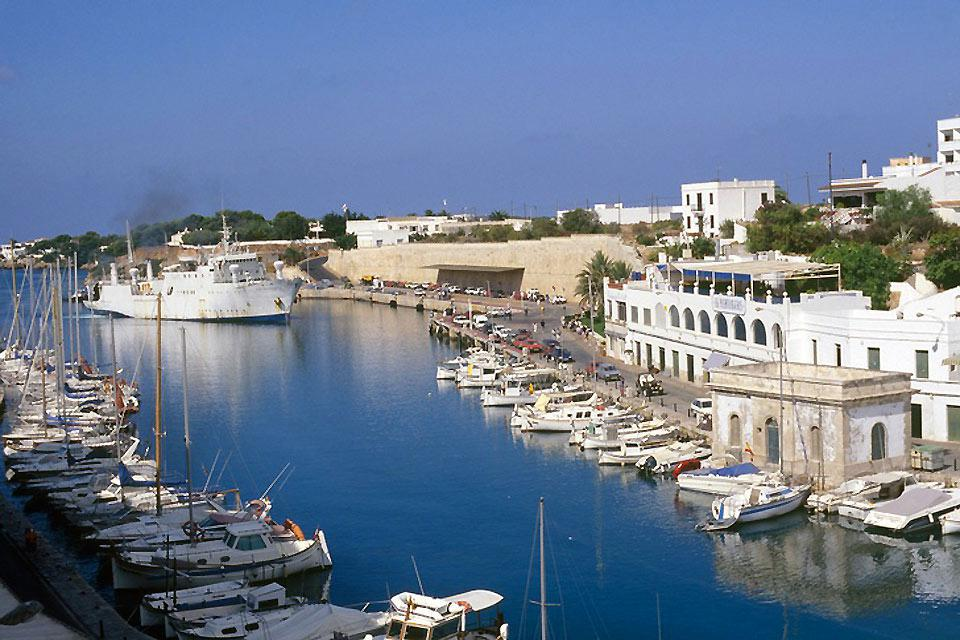 Ciutadella is the second biggest town in Menorca, after the capital Mahon.
