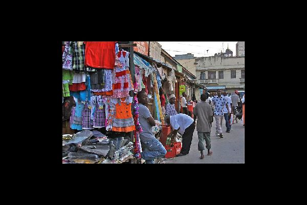 Whether you're shopping for food, clothes or accessories, you can find almost anything at Mombasa's market.