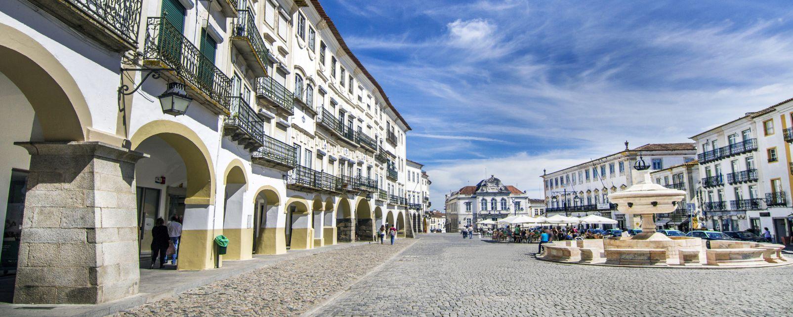 Évora, Le nord et le centre du Portugal, Portugal,