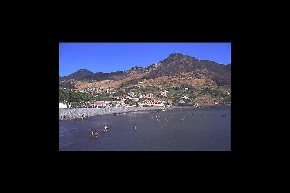 Machico is one of the rare cities in Madeira to have a beach.