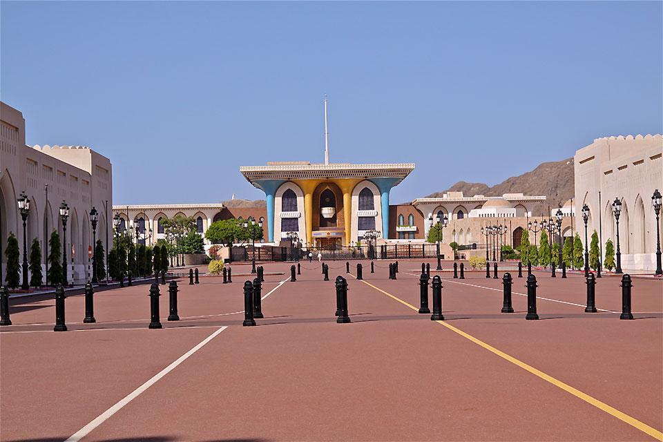 El palacio real.