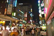 L'accueil est chaleureux de la part des Coréens, les jeunes viennent à la rencontre des touristes pour savoir d'où ils viennent.